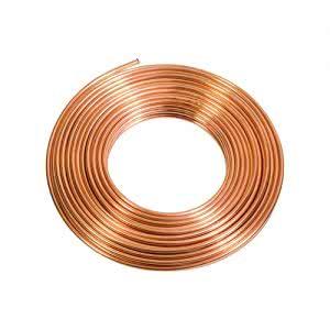 Vật liệu ống đồng cuộn