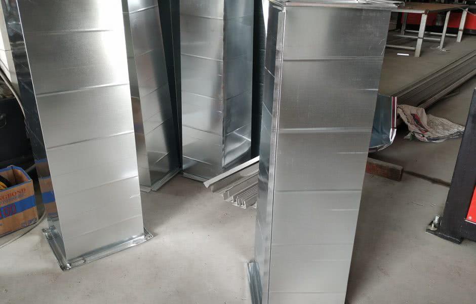 Sản phẩm ống gió vuông bích TDC