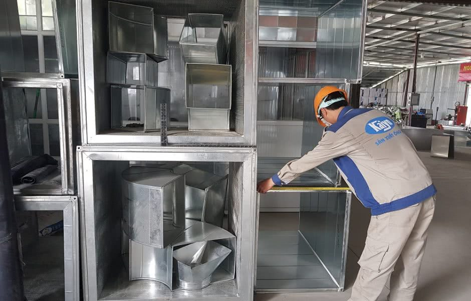 Kaiyo Việt Nam - đơn vị cung cấp ống gió chất lượng tại Hà Nội
