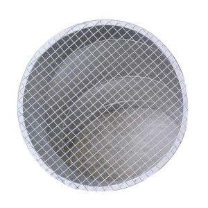 Lưới chắn côn trùng được lắp đặt kết hợp với cút gió tạo thành cover tròn