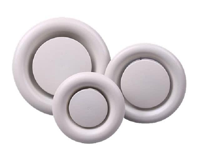 Sản phẩm cửa gió khuếch tán tròn kiểu đĩa