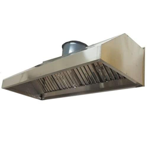 Sản phẩm chụp hút khói inox được sử dụng trong bếp ăn công nghiệp
