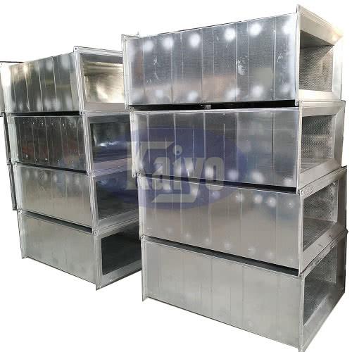 Ống gió tiêu âm vuông được sản xuất bởi Kaiyo Việt Nam