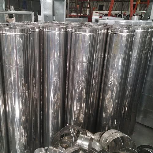 Sản phẩm ống gió tròn trơn inox 201
