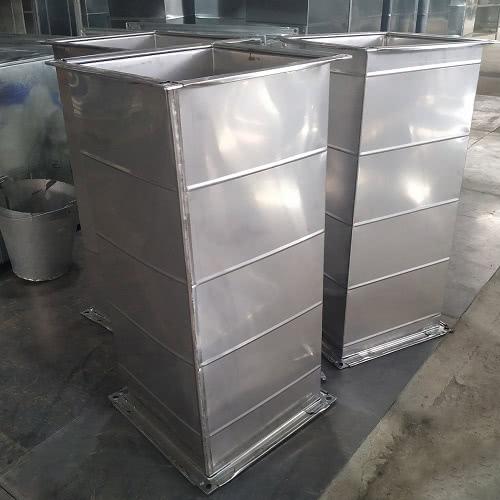 Sản phẩm ống gió vuông inox 304 dạng mờ