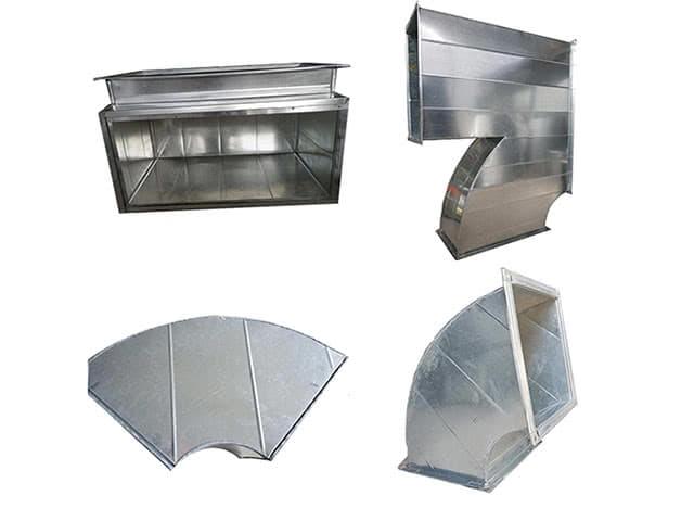 Phụ kiện ống gió vuông được sản xuất tại Kaiyo Việt Nam