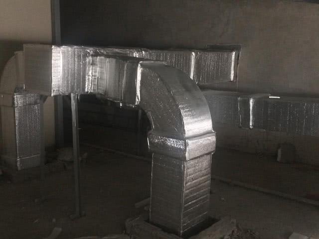 Ống khí sạch được lắp đặt tại Viện Phụ sản Trung ương