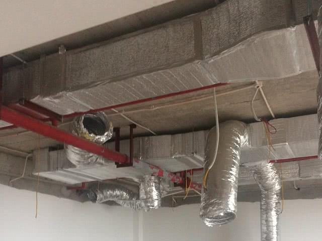 Hệ thống ống khí sạch được lắp đặt hoàn chỉnh