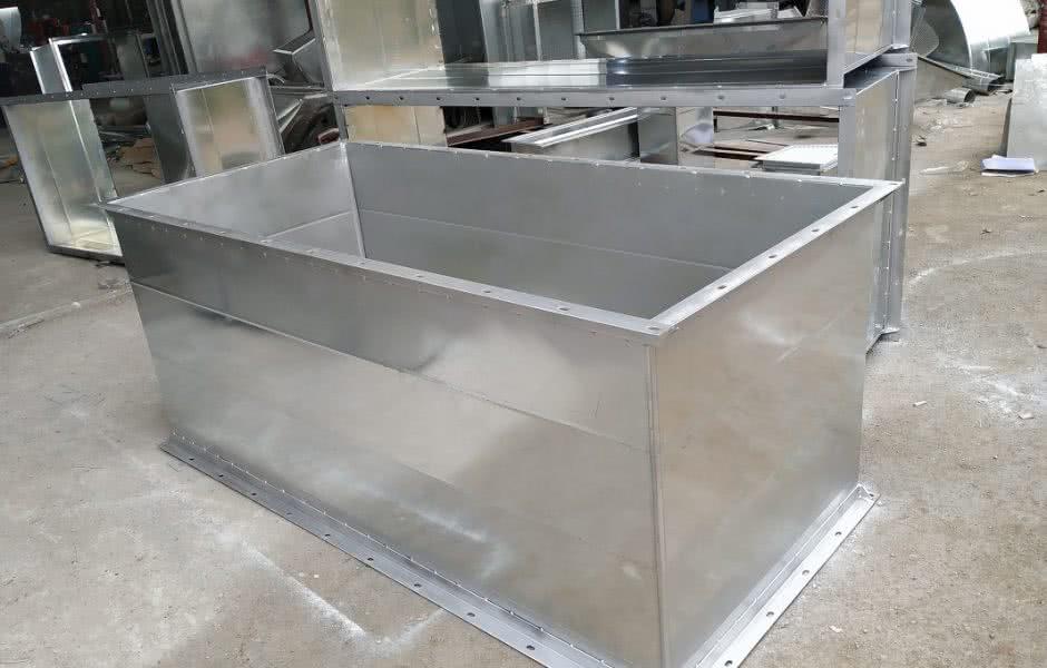 Sản phẩm ống gió vuông bích V được sản xuất tại Kaiyo Việt Nam