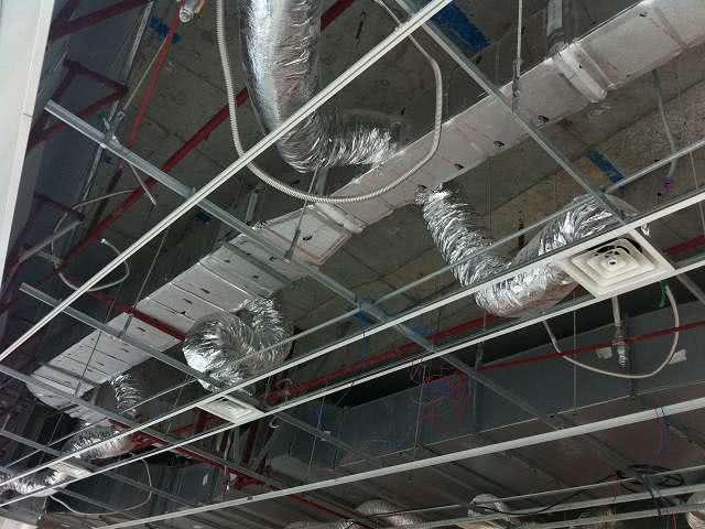 Đường ống gió mềm được lắp đặt bởi Kaiyo Việt Nam