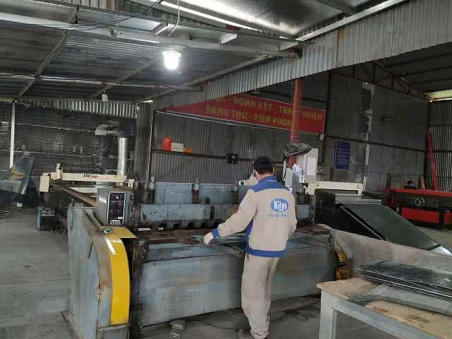 Sản xuất ống gió và phụ kiện