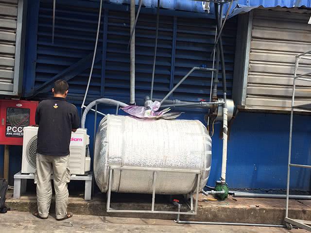 Hệ thống đường ống nước được thiết kế và lắp đặt bởi đơn vị Kaiyo Việt Nam