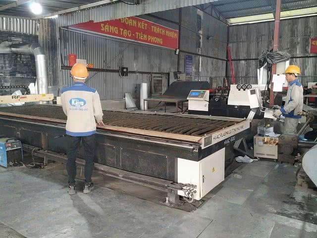 Máy cắt tôn hiện đại CNC Plasma