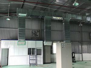 Sản phẩm cửa gió nhựa được sử dụng trong hệ thống