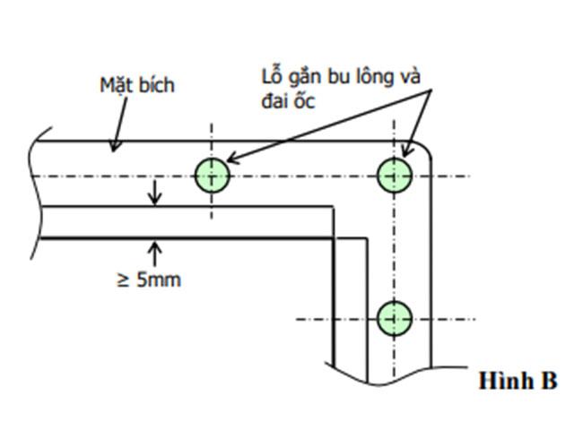 Hình ảnh kết nối bích với ống gió