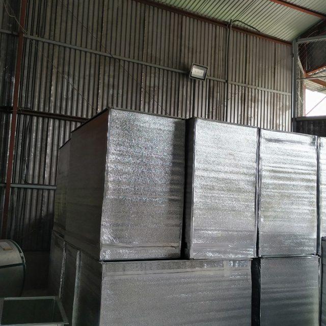 Ống gió tiêu chuẩn được bọc cách nhiệt tại Kaiyo Việt Nam