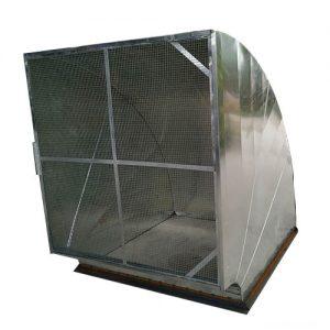 Phụ kiện cút vuông ống gió có lưới chắn côn trùng