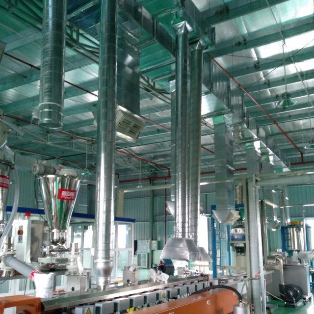 Ống gió tròn được sản xuất tại Kaiyo Việt Nam