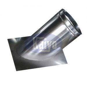 Ốp ống gió tròn 60 độ