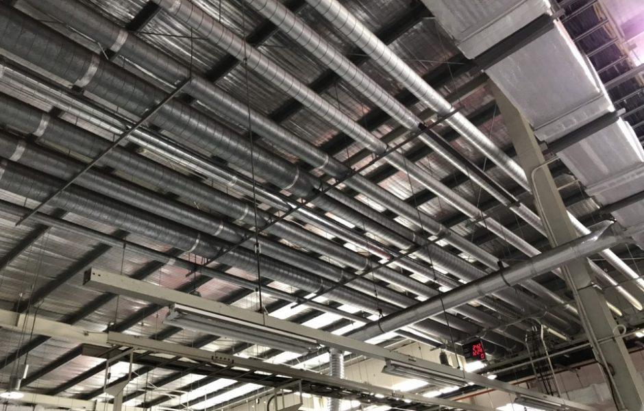 Sản phẩm ống gió tròn inox được sản xuất tại Kaiyo