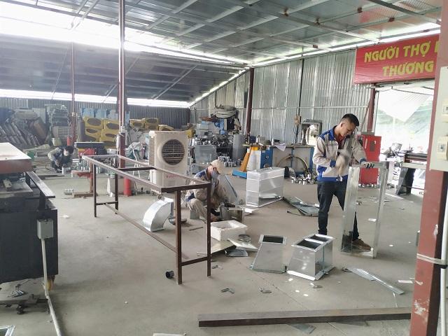 Sản xuất phụ kiện ống gió giá rẻ