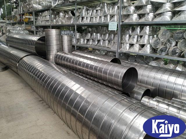 Sản phẩm ống gió tròn inox 304
