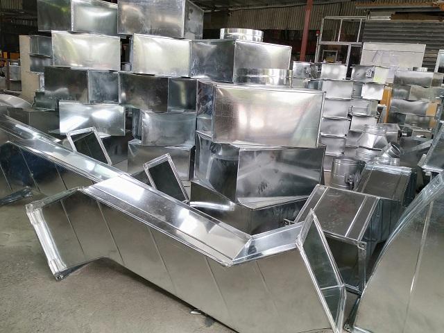 Phụ kiện ống gió vuông được sản xuất bởi Kaiyo Việt Nam
