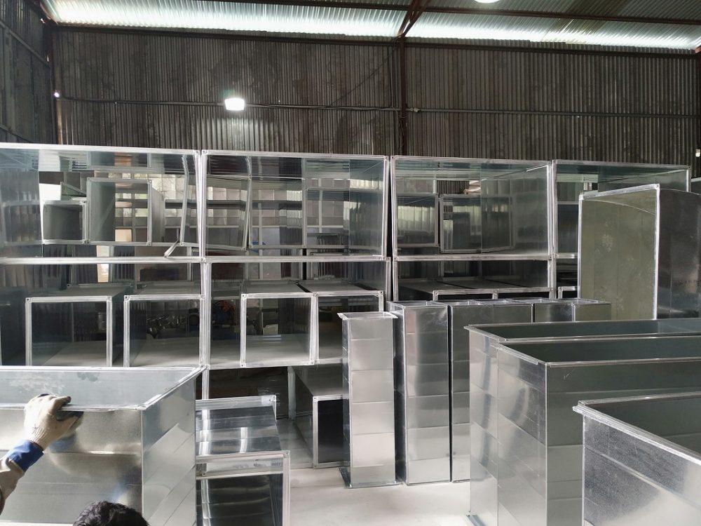 Đơn vị cung cấp ống gió vuông chất lượng Kaiyo Việt Nam