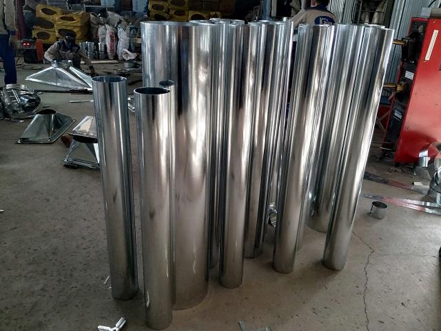 Ống gió tròn trơn được sản xuất tại Kaiyo Việt Nam