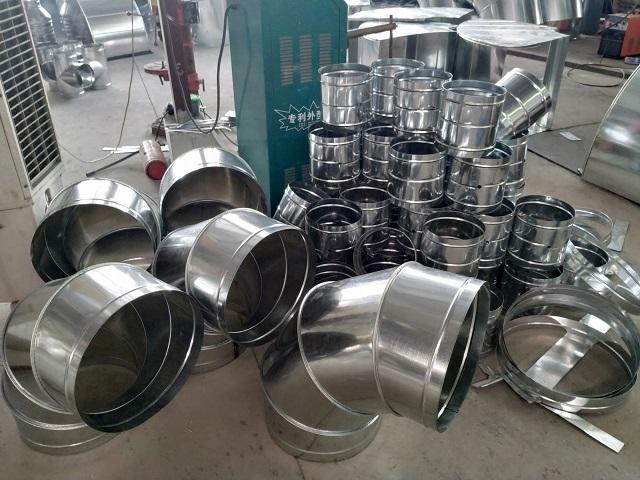 Phụ kiện ống gió tròn được sản xuất tại Kaiyo Việt Nam