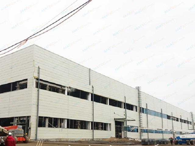 Dự án nhà máy VinSmart Hoà Lạc đang được triển khai