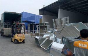 Kaiyo Việt Nam cung cấp phụ kiện ống gió giá rẻ cho công ty Seojin Bắc Ninh