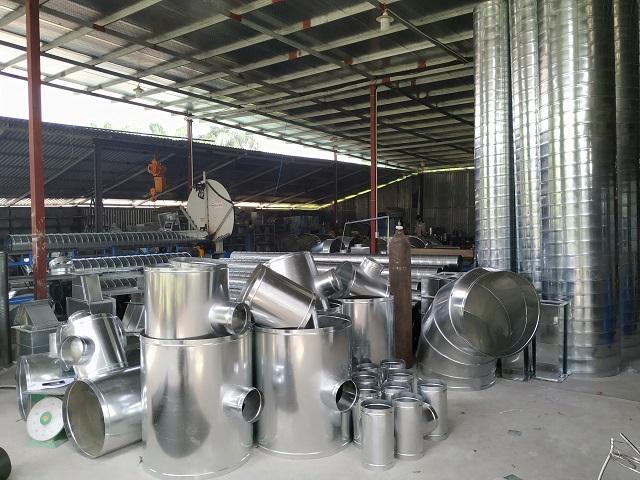 Gia công chạc 2 ống gió chất lượng trên thị trường