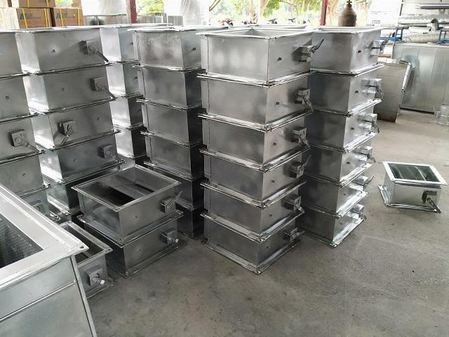 Sản phẩm van gió vuông được cung cấp bởi Kaiyo Việt Nam