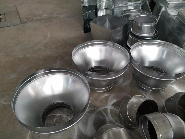 Phụ kiện côn thu ống gió tròn được gia công sản xuất tại Kaiyo
