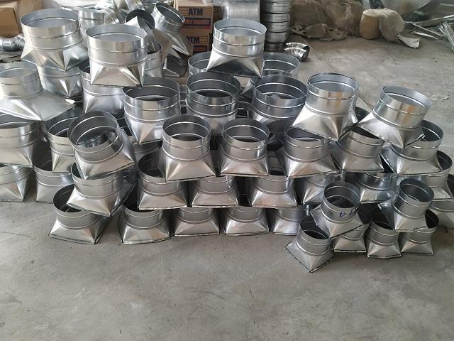 Phụ kiện ống gió giá rẻ được sản xuất tại Kaiyo Việt Nam