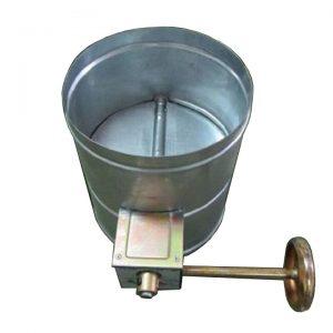 Van gió tròn tay trục vít được sản xuất tại Kaiyo Việt Nam
