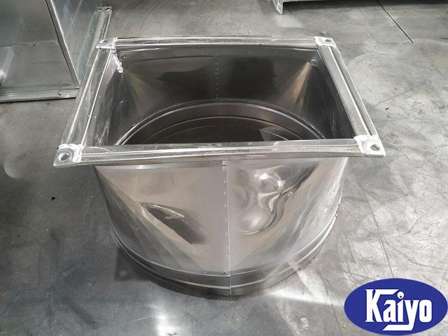 Sản phẩm côn chuyển vuông tròn inox chất lượng ISO