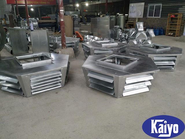 Cửa gió lục lăng được gia công sản xuất tại Kaiyo