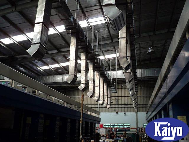 Hệ thống đường ống gió vuông inox 304