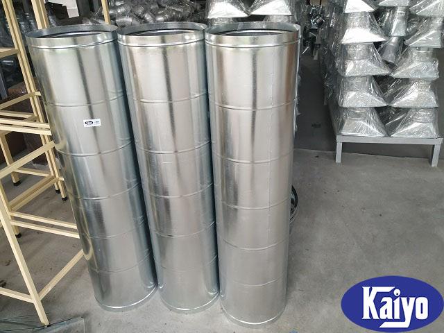 Ống gió tròn xoắn tại Hà Nội được sản xuất tại Kaiyo Việt Nam