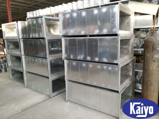 Ống gió vuông tiêu âm được gia công sản xuất tại Kaiyo Việt Nam