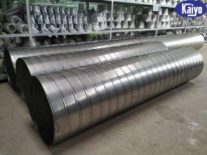 Sản phẩm ống gió tròn inox chất lượng cao