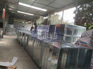 Ống gió cho công trình nhà đa chức năng tại UBND tỉnh Thái Nguyên