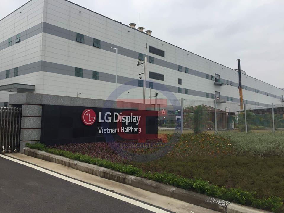 Hệ thống điều hoà trung tâm được lắp đặt hoàn chỉnh tại LG Hải Phòng