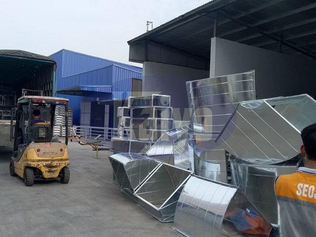 Hệ thống ống gió và phụ kiện được cung cấp bởi Kaiyo Việt Nam