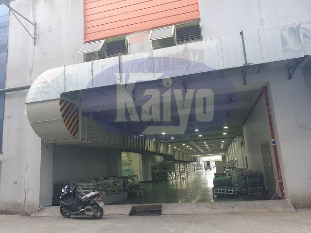 Thông gió tầng 1 tại nhà máy Seojin