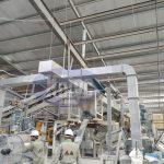 Hệ thống hút bụi được lắp đặt tại nhà máy gạch Quartz Phú Thọ Việt Nam
