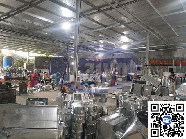 Kaiyo Việt Nam cung cấp ống gió và phụ kiện cho cơ điện Thăng Long