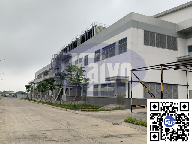 Lắp đặt hệ thống ống gió tại hà máy Ja Solar Bắc Giang
